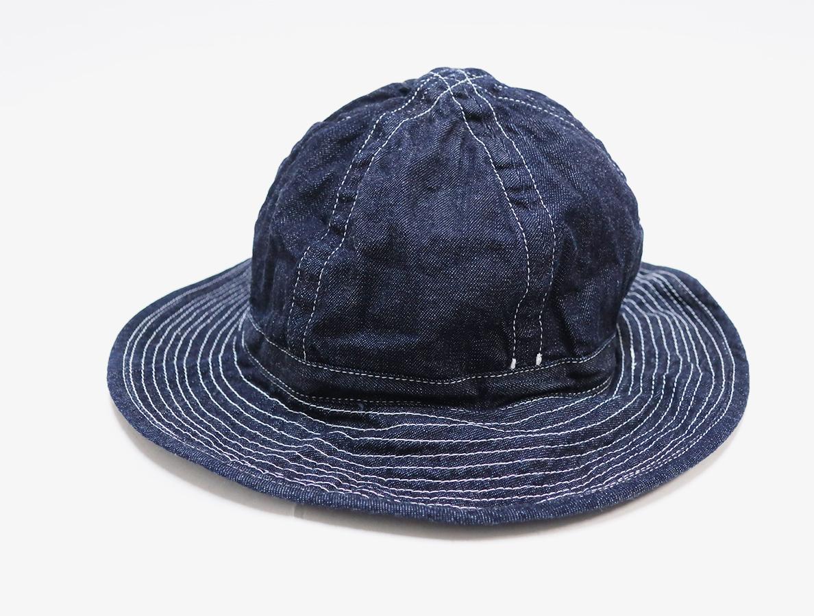 TOAST-DENIM-HAT